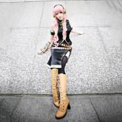 Inspirovaný Vocaloid Megurine Luka Video Hra Cosplay kostýmy Cosplay šaty Bez rukávůKabát / Náprsník / K šatům / Rukáv / Páska na ruku /