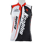 Kooplus Cycling Jersey Men's Sleeveless Bike Breathable Quick Dry Front Zipper Wearable Vest/Gilet Jersey Tops 100% PolyesterPatchwork