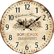 País Euro Reloj de pared