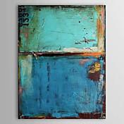 Pintada a mano Abstracto Vertical,Clásico Modern Un Panel Pintura al óleo pintada a colgar For Decoración hogareña