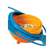 非流出ユニバーサル360回転のおもちゃのボウル皿を供給赤ちゃん子供の男の子の女の子のジャイロ