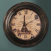 """13.5 """"H francés retro de metal reloj de pared"""