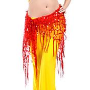 Břišní tanec Pásek Dámské Trénink Polyester Flitry Jeden díl Šátek přes boky