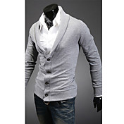 男性の熱い販売の長袖カーディガン