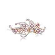 Mujer Diamantes Sintéticos Aleación Perla Artificial Celada-Boda Ocasión especial Casual Pasador