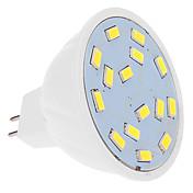 5W Focos LED MR16 15 SMD 5630 460 lm Blanco Fresco DC 12 V