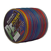 500M / 550ヤード PEライン / Dyneema 釣り糸 雑色 50LB / 45LB / 60LB 0.3;0.32;0.37 mm のために 海釣り / 川釣り
