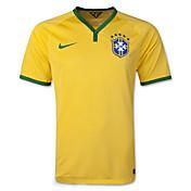 2014ワールドカップワールドカップジャージブラジルのホームゲーム黄(ファン)