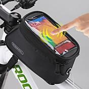 ROSWHEEL Bolsa para Bicicleta 1.5LBolso del teléfono celular Bolsa para Cuadro de Bici Bolsa para GuardabarroImpermeable Cremallera a
