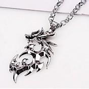 Ogrlice s privjeskom Jewelry Zmaj Titanium Steel Legura Jedinstven dizajn kostim nakit Moda Jewelry Za Vjenčanje Party Dnevno Kauzalni