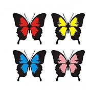 ファッション蝶スクラッチ車のステッカー