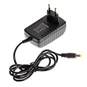 zdm ™ eu enchufe de 12 V CC a CA 110-240V 24w llevó 2a adaptador de corriente