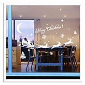 家の装飾のための壁のステッカーのかわいいカラフルPVC取り外し可能なクリスマスcarrige映像をzooyoo®売れ筋ウォールステッカー