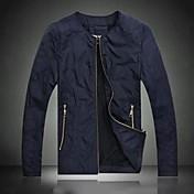 男性の新しい到着の高品質なスリーブのコート