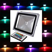 1 集積LED 2900 LM RGB リモコン操作 LEDフラッドライト AC 85-265 V