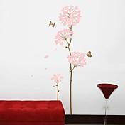 ウォールステッカーウォールステッカー、リビングの木の花の家の装飾のポスターポリ塩化ビニールの壁のステッカー