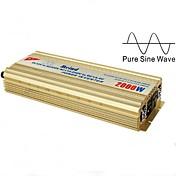 220VのACコンバータの車の充電器のmz2kに充電器、12VのDCとmeind®パワーインバーター2000ワットの純粋な正弦波