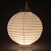真っ白なDIYの塗装ランタンハロウィンの装飾(電球を除く)