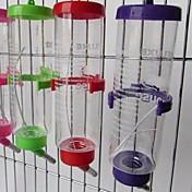 Gato Cuencos y Botellas de Agua Mascotas Cuencos y Alimentación Impermeable Portátil Multicolor Plástico