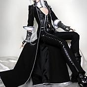 Felszerelések Punk Lolita Lolita Cosplay Lolita ruhák Fekete Egyszínű 3/4-es ujj Lolita Kabát / Mellény / Nadrágok Mert NőiBőr /