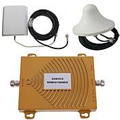 GSM / DCS 900 / 1800MHz de doble banda de la señal del teléfono móvil kit de antena amplificador de refuerzo