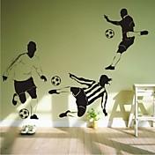 pegatinas de pared de tatuajes de pared, pvc fútbol contemporáneo pegatinas de pared