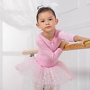 Ballet Tops Vestidos y faldas Tutús Vestidos Niños Algodón Mangas largas