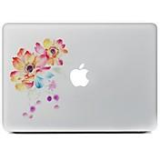 網膜ディスプレイ付き/ PRO / PROのMacBook Air用のフラワーデザイン装飾的なスキンステッカー