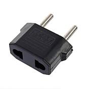 Adapter Stik Os Til Eu Ls142 Os Til Eu Magt Rejsestik Oplader Adapter Sort