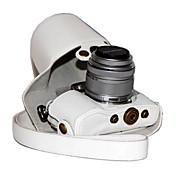 dengpin® PU kůže kamera pouzdro taška kryt pro Olympus Pen E-PL7 epl7 s 17mm nebo 14-42mm objektivem