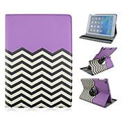 林檎 iPad 2/iPad 4/iPad 3 - 360⁰ケース ( PUレザー , グリーン/ブルー/ピンク/パープル ) - 特殊設計