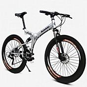 Bicicleta de Montaña Bicicletas plegables Ciclismo 21 Velocidad 26 pulgadas/700CC 50mm Hombre De las mujeres Unisex Adulto BRILLANTE SYS