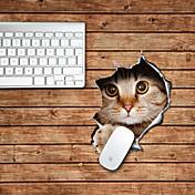 猫のデザイン装飾的なマウスパッド