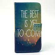 のために Samsung Galaxy ケース ウォレット / カードホルダー / スタンド付き ケース フルボディー ケース 風景 ハード PUレザー SamsungS6 edge / S6 / S5 Mini / S5 / S4 Mini / S4 / S3 Mini