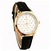 c&c reloj de cuero de imitación de las mujeres ocasionales