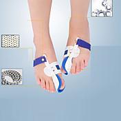 Cuerpo Completo Pie Soporta Dedo del pie y Separadores de juanete Pad Aliviar el dolor en el pie Corrector de Postura Plástico
