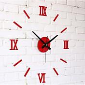 reloj de pared de espejo 3d creativa