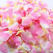 100 pcs artificial pétala de rosa para a decoração do casamento do partido