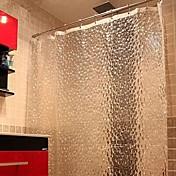 ca única gruesa es la cortina de ducha de diamantes peva cubo de agua 3d agua molde
