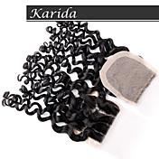 高品質バージンペルーヘアシルク基地閉鎖、karida髪カーリー4x4の安い在庫シルク基地閉鎖