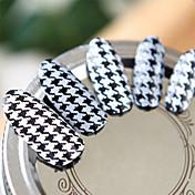 Autocolantes de Unhas 3D - Adorável - para Dedo - de Outro 6.2*5.3*0.1