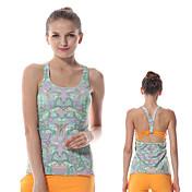 Yoga Chalecos / Tops / Tank Tops Pantalones + Tops Elástica en 4 Modos / Suavidad Eslático Ropa deportiva Mujer - YokalandYoga / Pilates
