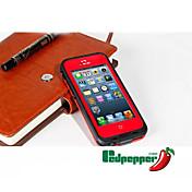 iphone 5 / 5S用の防水耐衝撃汚れ雪プルーフケースカバー透明シェル