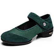 Zapatos de baile (Negro/Verde/Rojo) - Dance Sneakers/Zapatos de costura - No Personalizable - Tacón plano