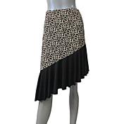 バレエ スカート 女性用 子供用 演出 訓練 ナイロン ライクラ 1個 スカート