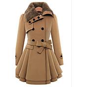 WOMEN - カジュアル / パーティー / 仕事 - コート&ジャケット (ツイード フラットカラー - 長袖