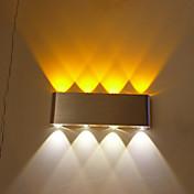 AC 110-130 AC 220-240 8W 集積LED 現代風 その他 特徴 for LED 電球は含まれています,アンビエントライト フラッシュマウントウォールライト ウォールライト