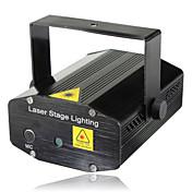 lt - Mini Estrella remota etapa de iluminación láser rojo + verde en peso (control de voz / automotor / remoto)