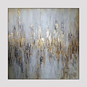 Pintada a mano Fantasía Cuadrado,Modern Un Panel Pintura al óleo pintada a colgar For Decoración hogareña