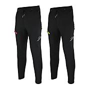 Arsuxeo Pantalones de Ciclismo Hombres Bicicleta Pantalones/Sobrepantalón Prendas de abajoImpermeable Mantiene abrigado Resistente al
